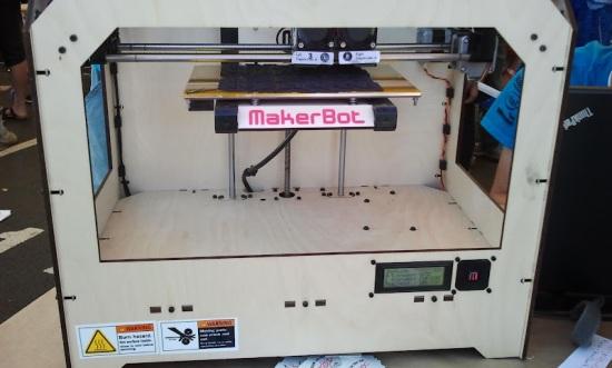 Omsi makers fair - Makerbot